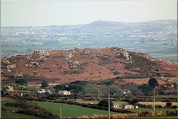 Trencrom Hill and Carn Brea